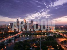 Photographic Print: Evening Skyline Scene from St. Anthony Main, Minneapolis, Minnesota by Walter Bibikow : Minneapolis Skyline, Minneapolis Minnesota, Seattle Skyline, London Tourist Guide, Take Better Photos, London Hotels, Travel Photographer, San Francisco Skyline, Cool Pictures