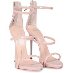 b43aef44d57 Colour  nude Designer colour  blushComposition calfskin Zip fastening along  back Three straps Leather sole and insole Made in Italy