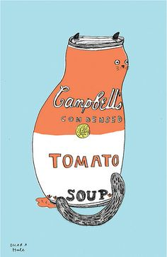 SOUP CAT by Ohara Hale | Flickr - Photo Sharing!