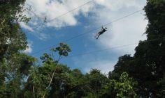 Cataratas de adrenalina > http://054online.com/notas/1317/adrenalina-en-iguaz  Sobrevolamos la selva misionera de la manera más emocionante posible, lo que nos dejó una sensación en el cuerpo que no nos la quitó ni toda el agua del rappel por una cascada que hicimos después.  Vení con nosotros, vamos a Iguazú, a vivir una aventura más allá de las cataratas > http://054online.com/notas/1317/adrenalina-en-iguaz