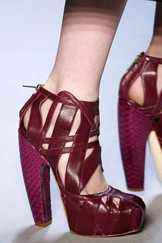 Dior by Galliano , Heels Collection & more details