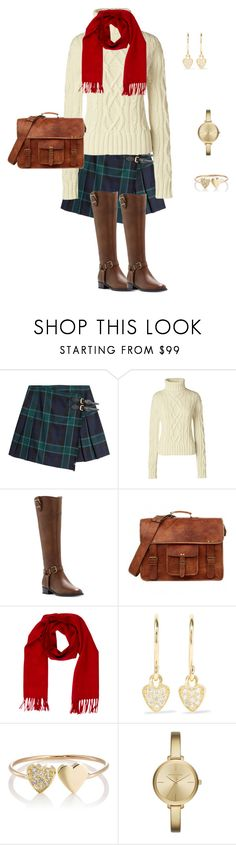 """White"" by tsurumi-mai on Polyvore featuring ファッション, Burberry, Lands' End, INC International Concepts, Loro Piana, Jennifer Meyer Jewelry と Michael Kors"