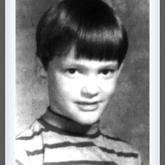 Who knew this small child would grow up to become THE Quentin Tarantino. Proof anyone can become that someone.
