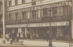 """POITIERS - """" PARIS - POITIERS """" - Place d'Armes. Date photo inconnue."""