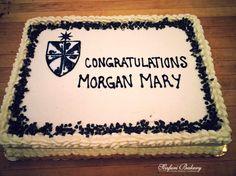 Graduation Cake / Scafuri Bakery