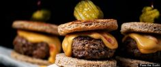 Sports-watching and burger-eating go together like peas and carrots. But burgers are big and messy, which can distract from the sports-watching experience.