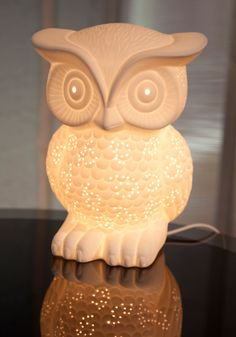 Nocturn-Owl Lamp from Modcloth!