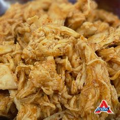 This #LowCarb Pulled Chicken recipe is perfect for busy weeknights, and in wraps and salads! Let your slow cooker do the heavy lifting! (All phases)