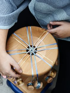 DAGNY pieces being made on the Marudai. Photo – Eve Wilson for The Design Files.