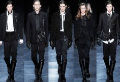 Image detail for -Edgy and Modernistic: A look into a NYC gothic fashion store Fashion 101, Dark Fashion, Gothic Fashion, High Fashion, Fashion Ideas, Fashion Inspiration, Fashion Hacks, Fashion Outfits, Cheap Fashion