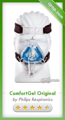 The ComfortGel nasal mask is one of the most comfortable nasal masks on the market. The gel-filled cushion conforms around the nose and uses the SST flap to create a consistent seal all night. This mask is also great for a variety of facial features such as facial hair. Click on the image above to see our product page!
