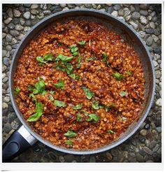 My Vegan Kitchen: Czerwona soczewica z suszonymi pomidorami