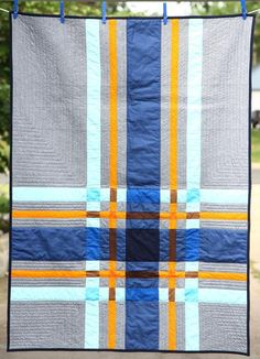 Looking for your next project? You're going to love Macro Plaid Quilt Pattern by designer carrie bee. - via @Craftsy