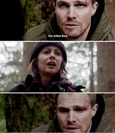 I feel like Oliver shouldn't have told Thea about killing Sarah, now she's so heartbroken:(