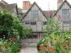 Hall's Croft, the elegant 17th century marital home of Susanna, daughter of William Shakespeare