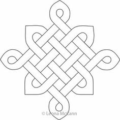 Digital Quilting Design Celtic Knot Block by Leona McCann. Digital Quilting Design Celtic Knot Block by Leona McCann. Celtic Symbols, Celtic Art, Celtic Knots, Mayan Symbols, Celtic Dragon, Egyptian Symbols, Ancient Symbols, Celtic Quilt, Letter Patterns