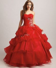 Allure Bridals Quinceanera Celebration Dress Q304 at frenchnovelty.com
