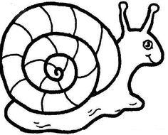 35 Gambar Snails Luar Biasa Coloring Pages For Kids
