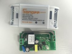 """Bob found these ESP8266 based Wi-Fi Relays from china, the """"Sonoff - WiFi Wireless Smart Switch For MQTT COAP Smart Home""""and being that he is is kind of a geek he bought some, now in typical China fashion the difference between 3 and 5 was not all that much, so he got two extra for me to glance ove"""