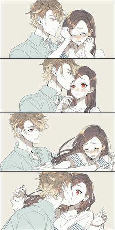 anime, couple and manga Couple Manga, Anime Love Couple, Cute Anime Couples, Anime Couples Hugging, Anime Comics, Anime Cosplay, Kawaii Anime, Anime Fashion, Fashion Fashion