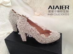Pretty lace shoes! :)