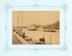 Reinbergin sininen sarja 1879: Aurajoen höyrylaivasatama.… | Flickr