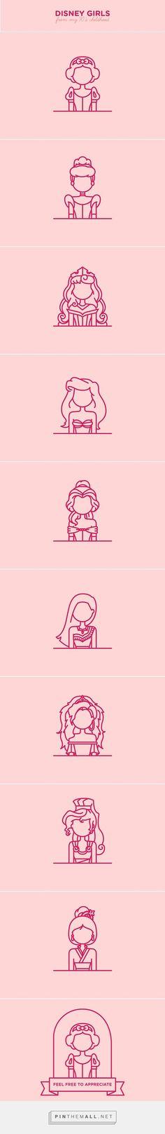 Księżniczki Disneya!  Ubierz postacie z bajek na http://www.ubieranki.eu/ubieranki.html