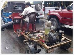 Life is hard but it's harder when you are stupid and these funny pictures are the great example of stupid people in the world. Indian Pictures, Weird Pictures, Darwin Awards, Car Fix, Unusual Things, Car Humor, Good Job, Sport Cars, Race Cars