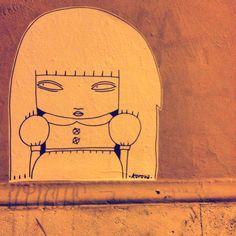 Street art in Rome !