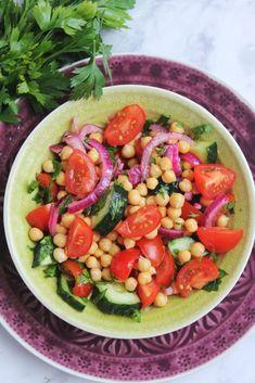 Vegetarian Recipes, Healthy Recipes, Rabbit Food, Street Food, Cobb Salad, Protein, Food And Drink, Vegan, Ethnic Recipes