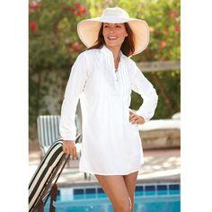 e9acdb499e1 Women's Resort Tunic - Solumbra: All Day 100+ SPF Sun Protective Clothing -  Style# 18600