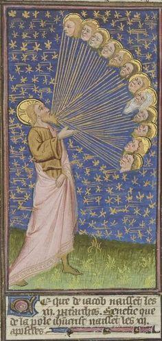 Medieval Manuscript, Medieval Art, Illuminated Manuscript, Ancient Astronomy, 7 Arts, Tableaux Vivants, Renaissance, Medieval Paintings, Book Of Hours