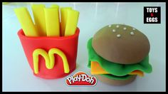Play Doh Burger and Fries How To Make a Hamburger & French Fries with Playdough  #playdoh   #playdohcreation   #playdohcreations   #playdough   #playdoughcreations   #playdohvideos   #playdoughvideos   #playdohcrafts   #playdoughcrafts   #burger   #fries   #frenchfries   #playdohburger   #toys