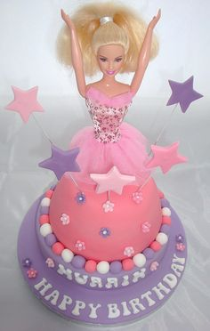 Ballerina Birthday Cake | Ballerina Barbie Birthday Cake | Flickr - Photo Sharing!