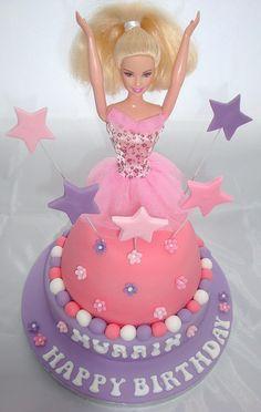 Ballerina Birthday Cake   Ballerina Barbie Birthday Cake   Flickr - Photo Sharing!