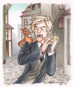Draco and Dragon by CaptBexx on DeviantArt