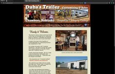 Duba Trailers invites you to stop by and see their wide variety of inventory.
