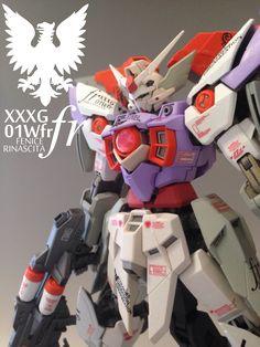 MG 1/100 Gundam Fenice Rinascita Custom: No.10 Big Size Images, Info http://www.gunjap.net/site/?p=289797
