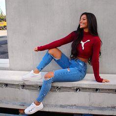 Likes, 363 Comments - Ivana Santacruz (Ivana Brajkovic.santacruz) on Instag. Teen Fashion, Fashion Outfits, Womens Fashion, Fashion Trends, Teenager Fashion, Fashion 2016, Fashion Advice, Fashion Styles, Mode Outfits