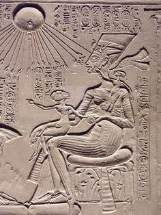 Detail From Amarna New Kingdom, dynasty, around 1350 BC Limestone Neues Museum Berlin, Inv. Ancient Egypt History, Ancient Egyptian Art, Ancient Aliens, Ancient Mysteries, Ancient Artifacts, British Museum, Objets Antiques, Egypt Museum, Berlin Museum