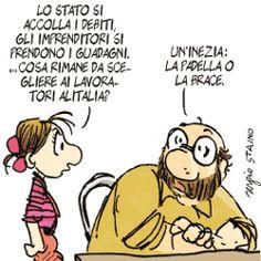Sergio Staino - l'Unità 12 settembre 2008