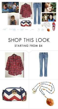 """Disney dream cast: Linda McCartney as Andy's mum from 'Toy story'"" by sarah-m-smith ❤ liked on Polyvore featuring 3x1, Gucci, Karen Sugarman Designs and MR by Man Repeller"
