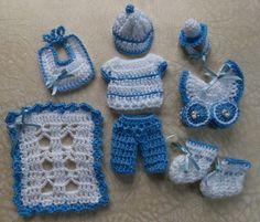 Recuerdos para baby shower tejidos crochet