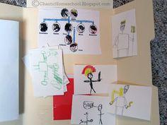 Chaotic Homeschool: Greek Mythology Lapbooks artist trading  cards for gods, etc....