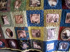 family reunion ideas | Family Memory Quilt...handmade | REUNION AND PARTY IDEAS