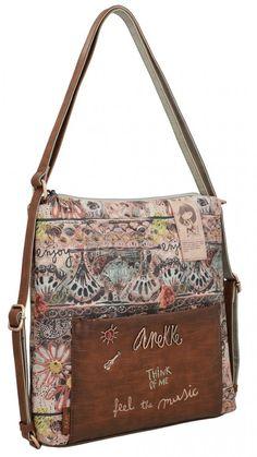 Taschenrucksack Anekke Ixchel Music Alloverprint Convertible, Shopper, Messenger Bag, Satchel, Shoulder Bag, Bags, Products, Interior, Fashion