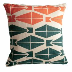 Our 100% linen pillow covers  are a great way to add some colour and pattern into your ...