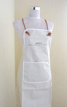 Hermes Cook Apron Canvas / Leather Collectors item | Luxury & Vintage Madrid