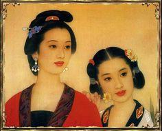 by Wang Meifang (王美芳), b1949 Beijing, China
