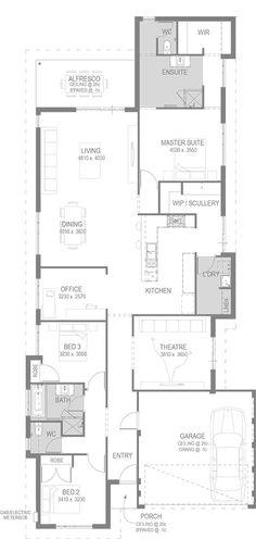 Galera de vivienda carreo garca gys arquitectura 12 casas the quintero floorplan by go homes malvernweather Image collections